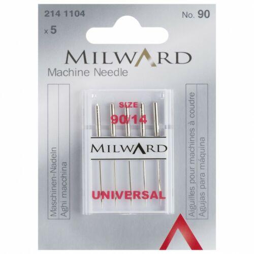 90//14 Milward Sewing Machine Needles