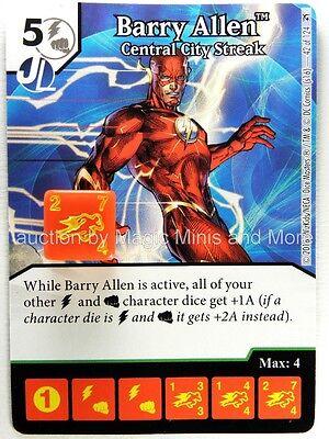 Green Arrow Flash BARRY ALLEN Central City Streak #42 DC Dice Masters card