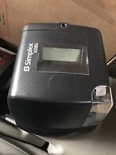 Simplex 125-O | Black TIME RECORDER | ELECTRONIC TIME CLOCK 1603-9115