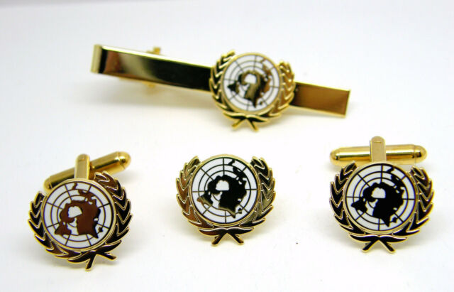 The 1st US Infantry Division Cufflinks Lapel Pin /& Tie Bar