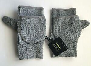 Champion-Womens-Mittens-Fingerless-Gloves-Gray-Warmer-One-Size-NEW