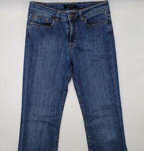 Tommy Hilfiger Paris W27 L34 blau Damen Designer Denim Jeans Hose Retro Mode VTG