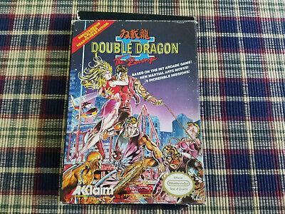 Double Dragon Ii 2 Nintendo Nes Authentic Box Only Oval