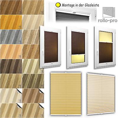 Erfinderisch Plissee Nach Maß Faltrollo ☆natur☆ Alu-profil: Weiß ►rollos Plissees Jalousien Modernes Design