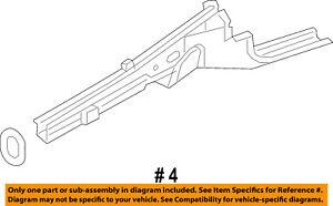 CHRYSLER-OEM-Fender-Lower-Outer-Rail-Right-68261522AC
