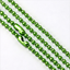 Wholesale Lot5//20//100pc Ball Metal 2.4mm Beads Chains Necklace Finding 12 COLOR