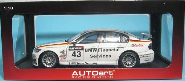 BMW 320SI  43 WTCC 2006 DIRK MULLER AUTOART 80648 1 18 CASTROL 1 18