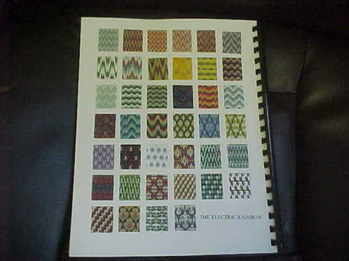 930//940 Knitting Machines Primer-4th In Series Bargello Jacquard Workbook
