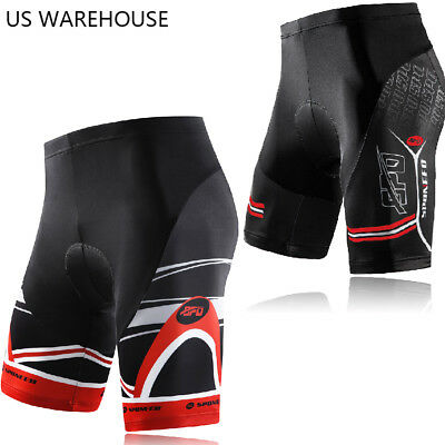 Men Bike Shorts Cool Quick Dry Sun Protect Gym Spinning Downhill Cycling Tights