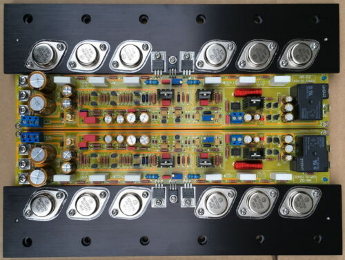 One pair Upgraded Pure Class A Amplifier board base KRELL KSA50 MKII    L7-52
