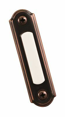 Wired Push Button,1 Pack,Bronze,0.9 x 2.75 x 6 inches