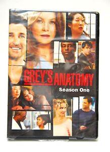 GREY-039-S-ANATOMY-SEASON-1-2006-2-DVD-SET-NEW-SEALED