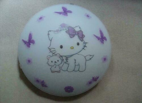 Hello Kitty Deckenlampe Katze Kinderzimmer Deko Schmetterling Serviette LED