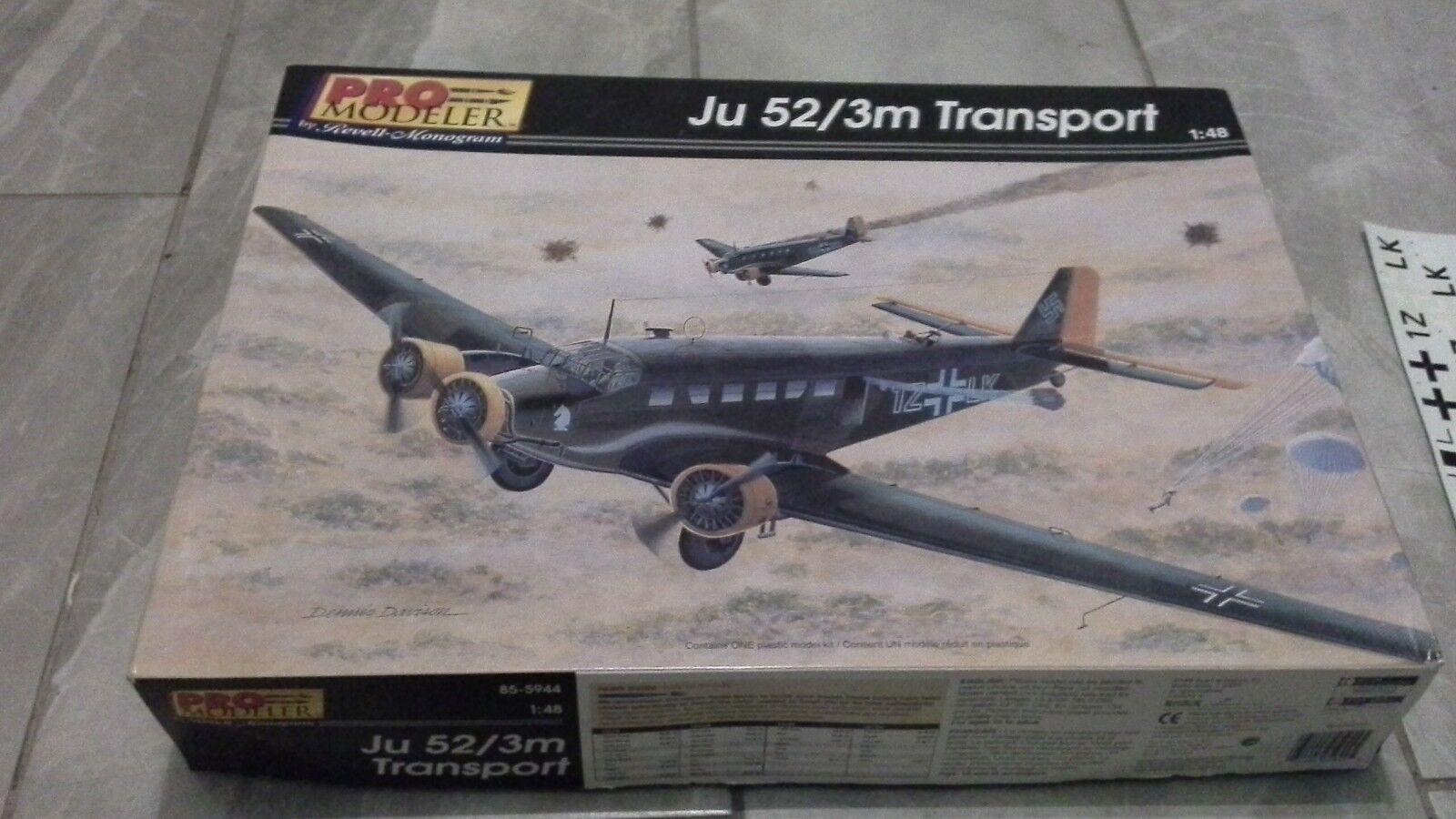 Pro modeller monogram 1 48 ju 52  3m transport