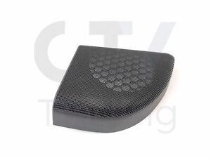 Genuine Mercedes-Benz C W203 Rear Right Black Door Speaker Cover A20372704889051