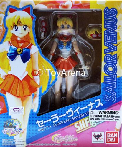 Figuarts Sailor Venus Sailor Moon figurine Bandai en stock USA Vendeur S.H