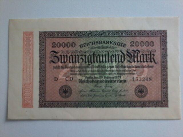 Banknote 200000 Mark 1923 Berlin.Ro 84e.