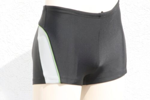 215085 MCT marchi Costume Bagno HERREN BERMUDA SHORTS elastico nero in M