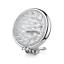 5-034-Chrome-billet-LED-headlight-Harley-cruiser-Chopper-Bobber-custom-cafe-racer thumbnail 2