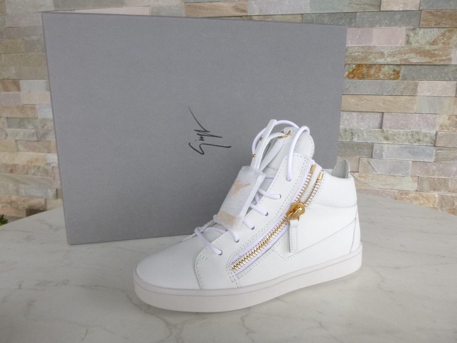 LUSSO 35 Giuseppe Zanotti Design N. 35 LUSSO Sneakers High Top Scarpe Shoes NUOVO UVP 86bdb4