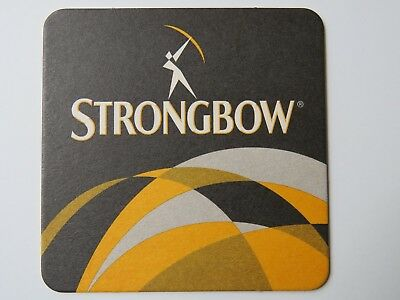 Strongbow cider Beer Mats in packs of 1 and 5