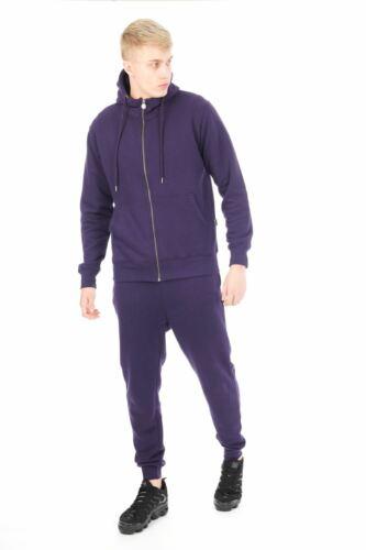 Casualking® New Men/'s Zip up Hooded Fleece Track suit Top Zipper  Jumper S-XXL