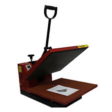 38 x 38cm CLAM Heat Press Machine 1 YEAR WARRANTY T-Shirt Transfer Sublimation