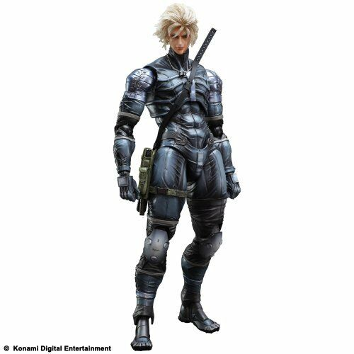 Metal Gear Solid 2 Sons of Liberty Play Arts Kai Raiden Figure NEW from Japan