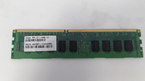 1.35V Sun//Oracle 371-4965 4GB Registered DDR3-1333 DIMM