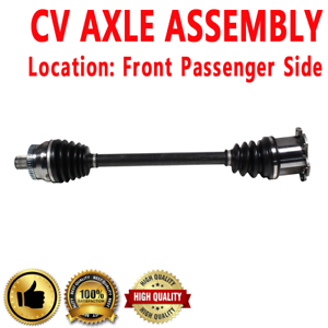 For Audi Allroad w// Automatic Transmission Front Driver Left CV Axle