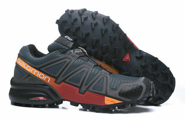 2019New Men's Salomon Speedcross 4 Athletic Running Sports Outdoor Hiking Shoes