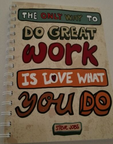 2018 2019 diary 'love what you do' quote A5