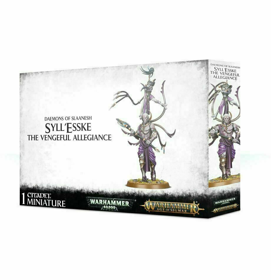 Warhammer Age of Sigmar Hedonites of Slaanesh Syll'esske  The Vengeful
