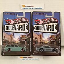 2 Car JDM Set * '71 Bluebird 510 Wagon &  Nissan Skyline * Boulevard Hot Wheels