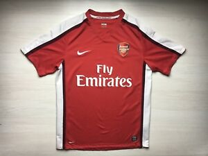 0c7270517ed62 ARSENAL LONDON 2006 2007 2008 HOME FOOTBALL SHIRT JERSEY MAGLIA NIKE ...
