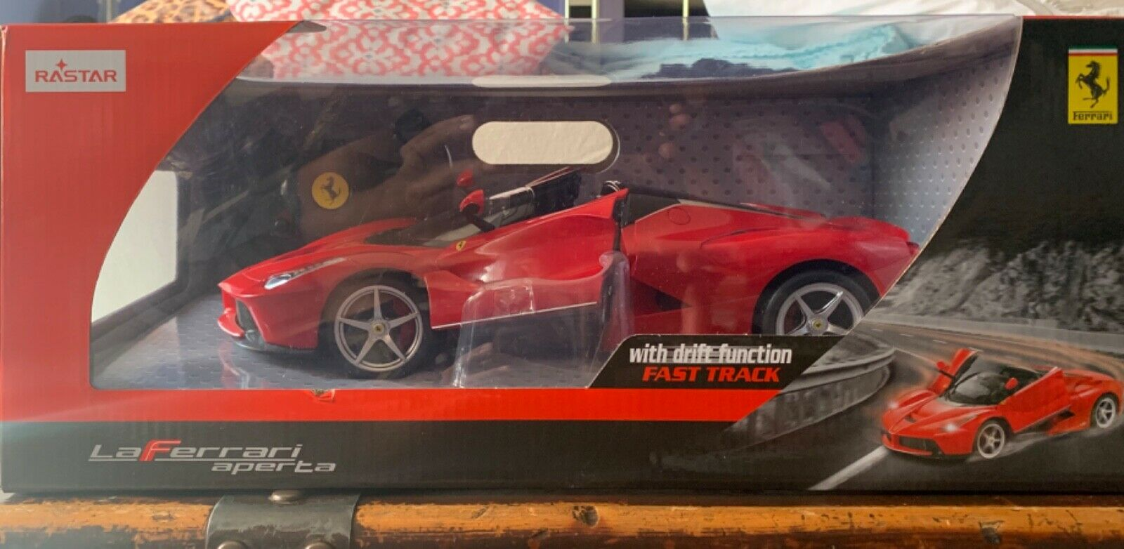 Rastar 1 14 Radio Control Car Ferrari Laferrari Aperta Red 75800 Drift Function For Sale Online