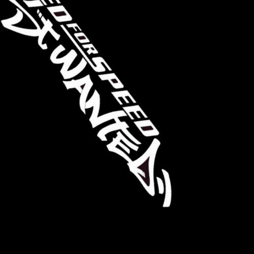 JDM English White Need For Speed Scratch Car SUV Windshield Decal Vinyl Sticker