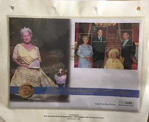 HM-QUEEN-ELIZABETH-QUEEN-MOTHER-100th-BIRTHDAY-GOLD-SOVEREIGN-Number-456-Of-2000