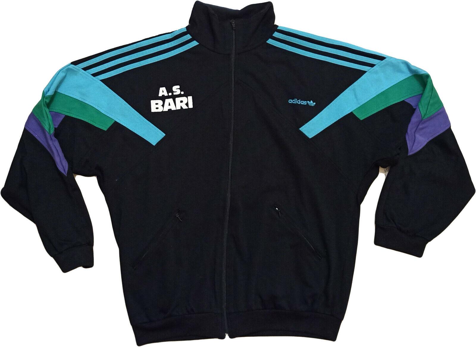 Maglia adidas vintage Bari home jersey 1994 1995 tracktop SUD FACTORING Diuominiione L