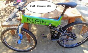 1998 Klein Mantra Pro Blue Koi FULL XTR Rare US Retro  , Cane Creek Wheels/Hubs