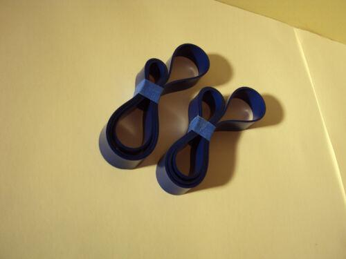 "2 BLUE MAX 9/"" URETHANE BAND SAW TIRES FOR MENARDS TOOL SHOP JDD240"