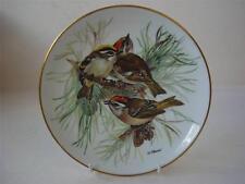 BRADEX URSULA BAND SONG BIRDS OF EUROPE FIRECREST PLATE