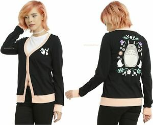 Ghibli Totoro Garden Black Neighbor junior My Studio Maglione cardigan Dream 4pwtd4