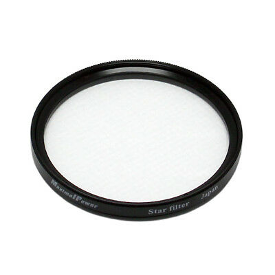 52mm STAR 4 Point Cross Screen Lens Filter Protector Cover for Canon Nikon Sony
