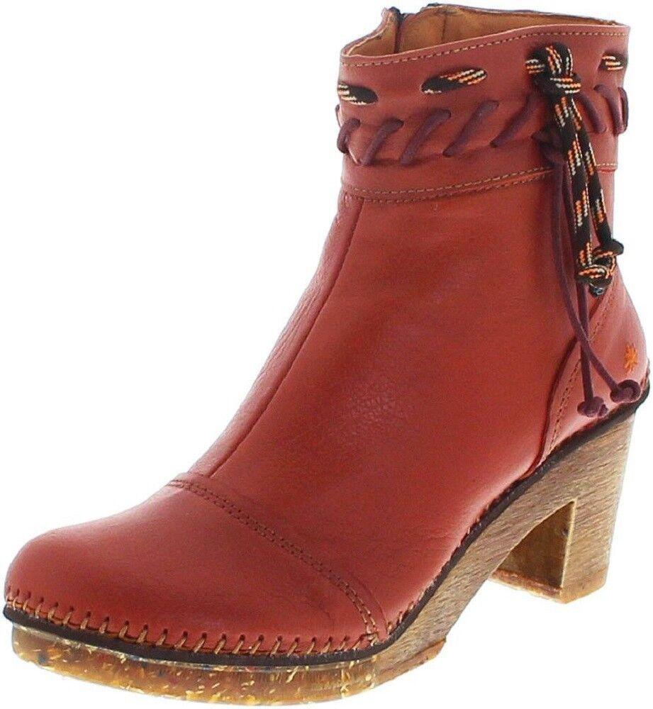 Art AMSTERDAM 1053 Memphis Petalo  Damen Stiefelette Rot Damenschuhe Damen Stiefel