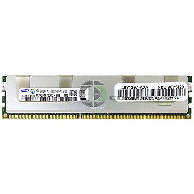 8GB DDR3 RAM PC3-8500R DELL POWEREDGE SERVER IBM HP M393B1K70CHD-CF8