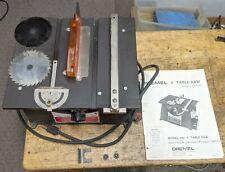 Dremel 4 Inch Table Saw Model 580 With Extra Blades 10k Rpm 115 Vac H25u