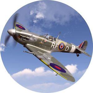 4x4-Spare-Wheel-Cover-4-x-4-Camper-Graphic-Sticker-Jet-Plane-Spitfire-War-112