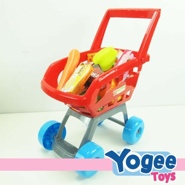Pretend Play Shopping Cart Play Set