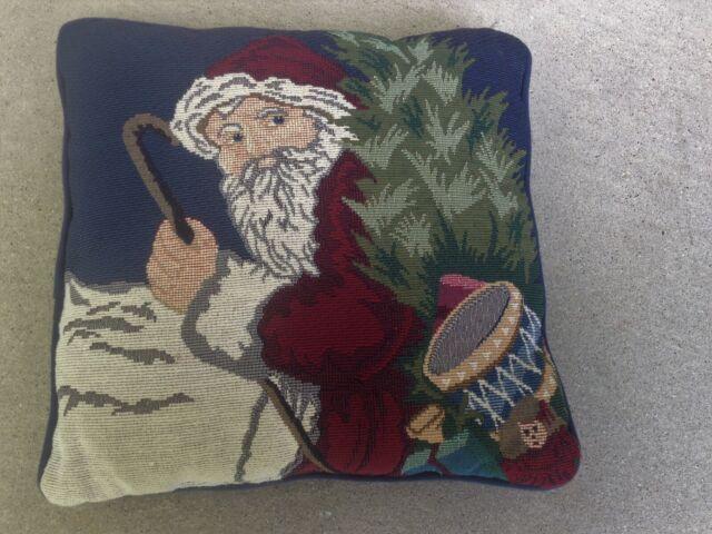 Needlepoint Designed Santa Claus